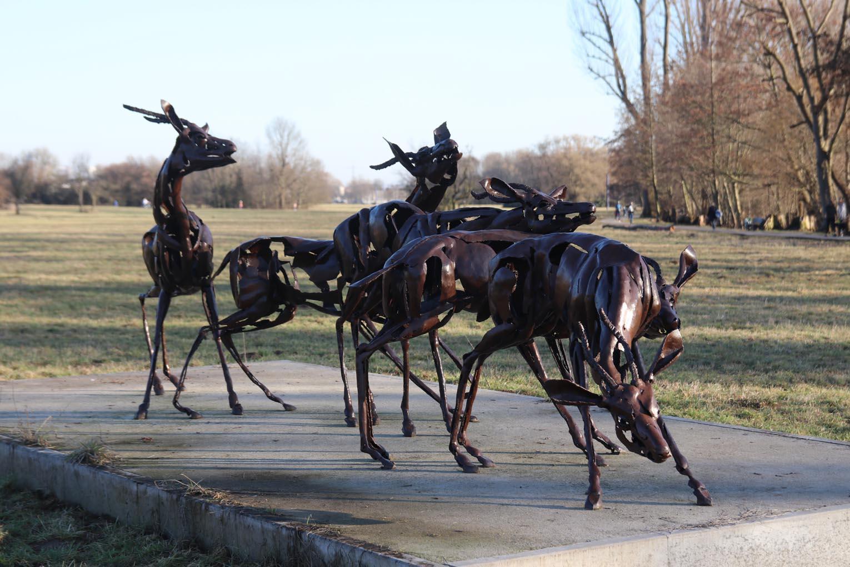 Eschborn: Skulpturenpark