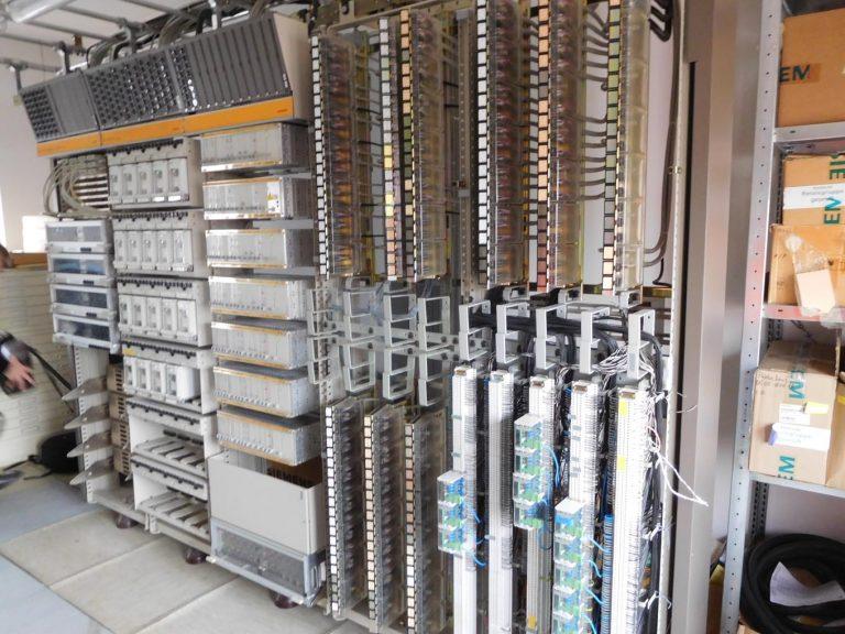 Der Serverraum.