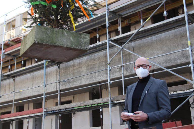 Karsten Valentin, Geschäftsführer der Gemeinnützigen Wohnungsbau GmbH (GWH)