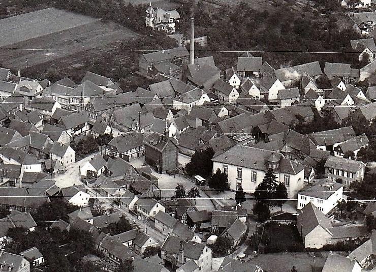 Alter Ortskern 1931. Foto: Heinz Kunz