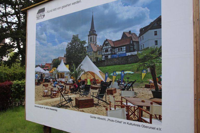 """""""Erinnerung an 10 Jahre Hessentag"""" ist das Bild von Günter Albrecht (Photo-Cirkle im Kulturkreis) betitelt."""