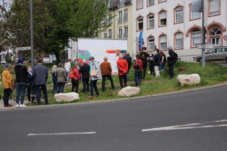 Eröffnung Spray-Event.