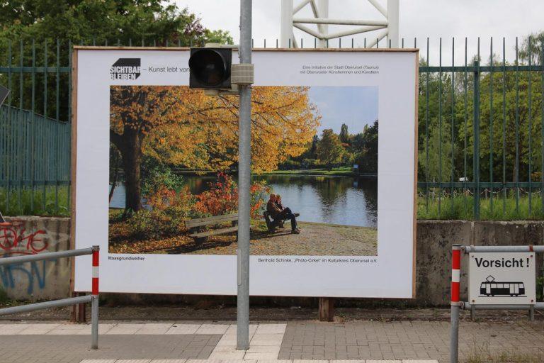 """""""Maasgrundweiher"""" von Berthold Schinke (Photo-Circle im Kulturkreis) frontal betrachtet."""