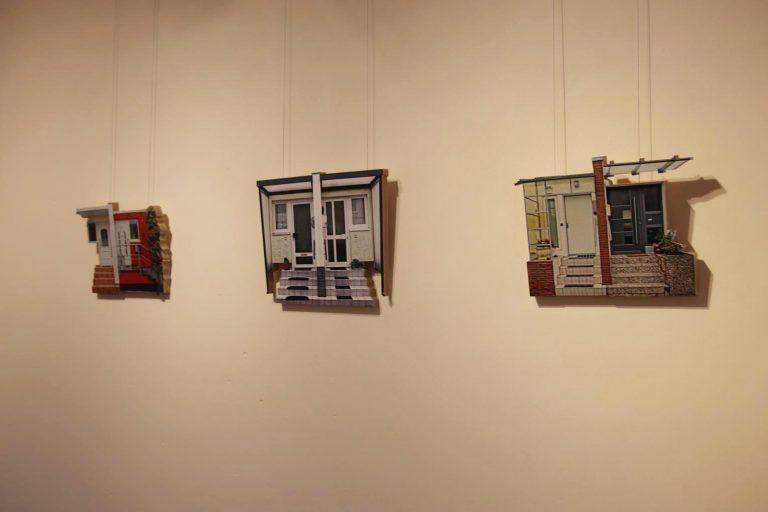 Individualization III, I und II: Aus zweidimensionalen wurden dreidimensionale Skulpturen.