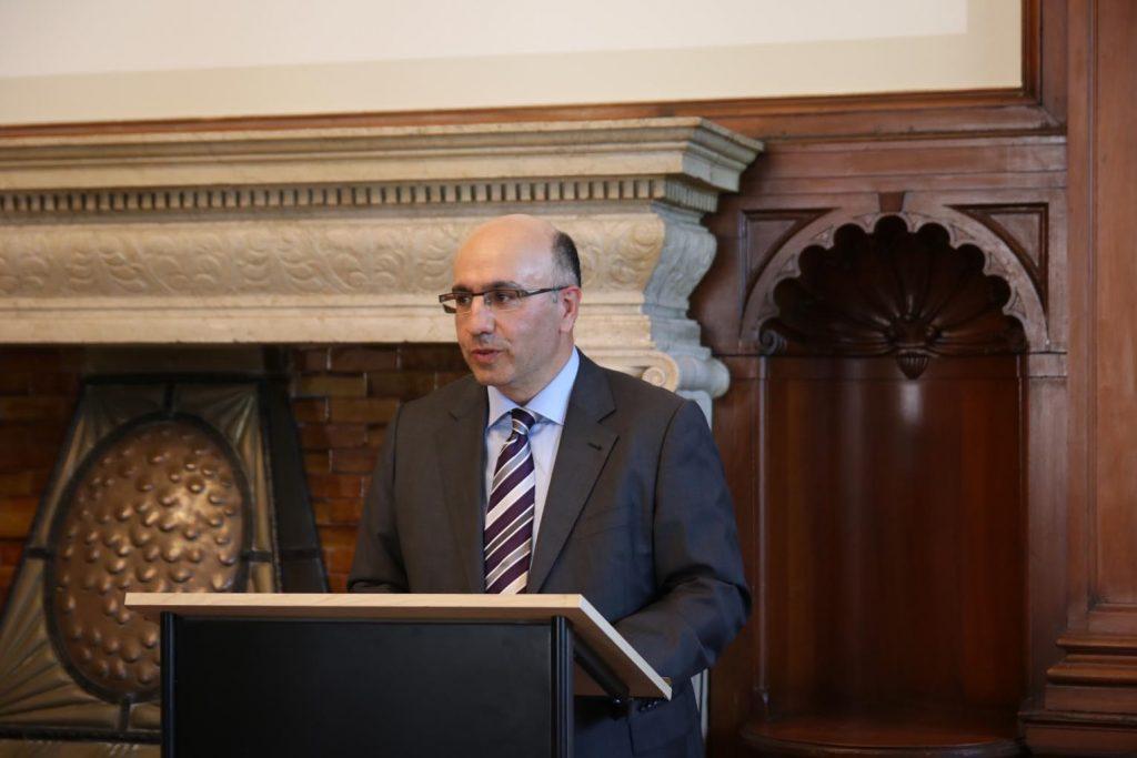 Arthur Iliyav ist der Vorsitzende des Vorstands von Makkabi Taunus.