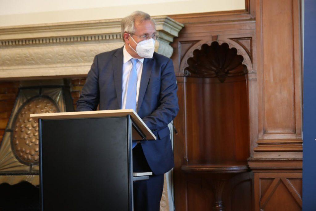 Bürgermeister Meinhard Matern.