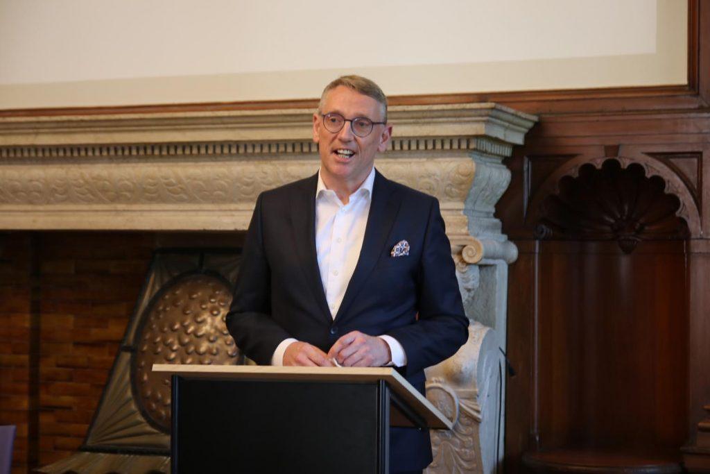 Markus Franz vom Vorstand der Taunus Sparkasse.