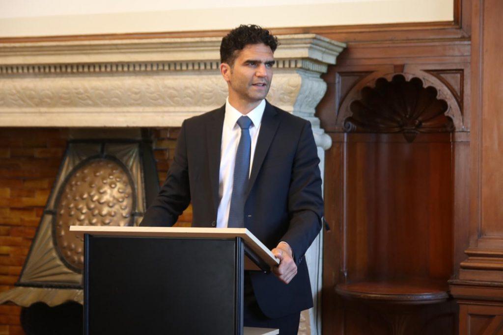 Alon Mayer, Präsident von Makkabi Frankfurt.