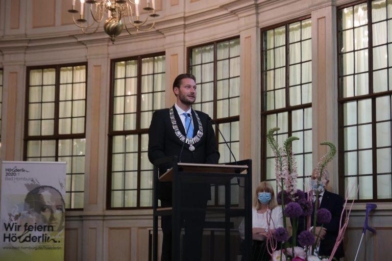 Oberbürgermeister Alexander Hetjes.