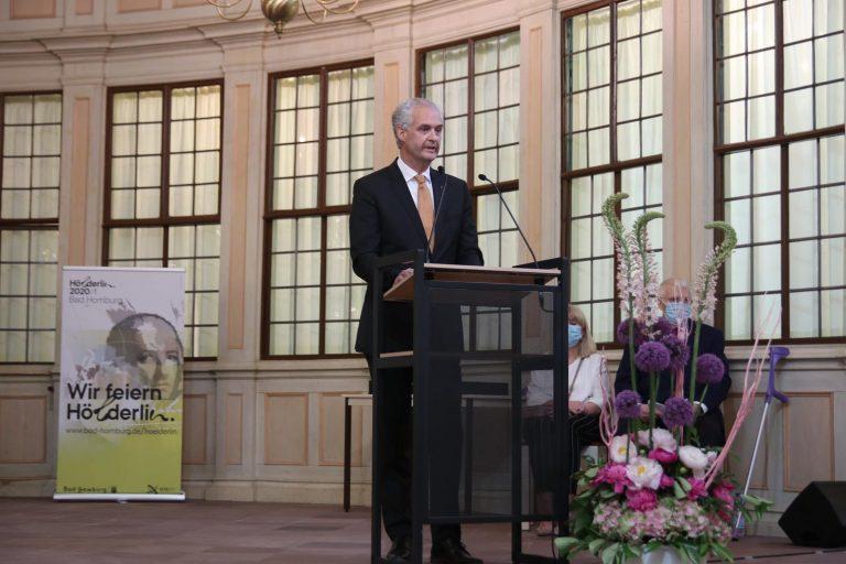 Karl-Josef Ernst, Vorsitzender des Kuratoriums Bad Homburger Schloss.