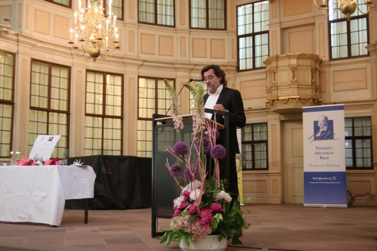 Laudator Professor Dr. Heinz Drügh
