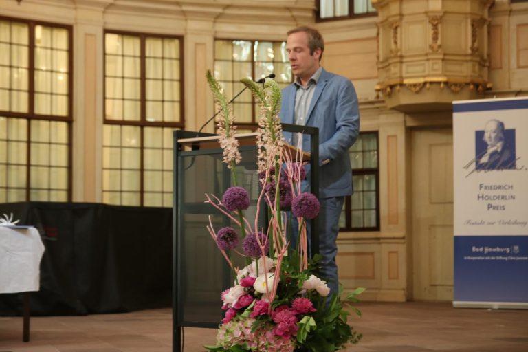 Laudator Tobias Lehmkuhl
