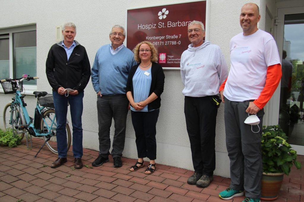 Ludger Engelhard-Zühlsdorff, Werner Reinke, Stefanie Dittrich, Gunter Lutzi und Denis Frickel.