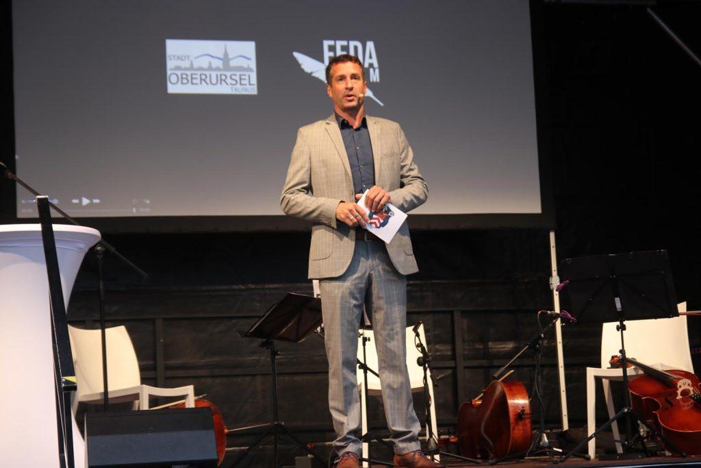 Moderator Markus Philipp.
