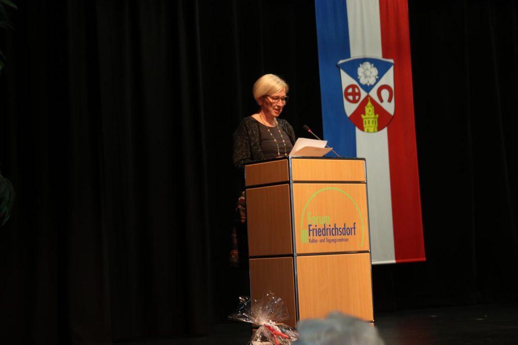 Veronika Bauer, Organisatorin des Jugendchors des Hochtaunuskreises.