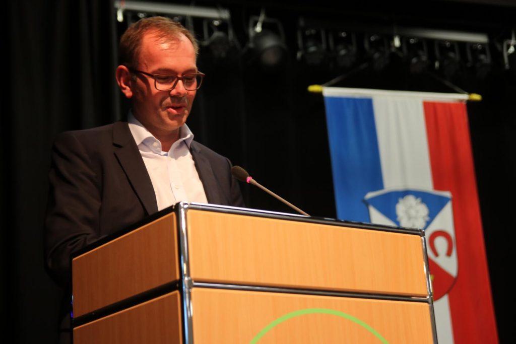 Mathias Wagner, MdL, Fraktionsvorsitzender Bündnis 90/Die Grünen + Friedrichsdorfer Bub.