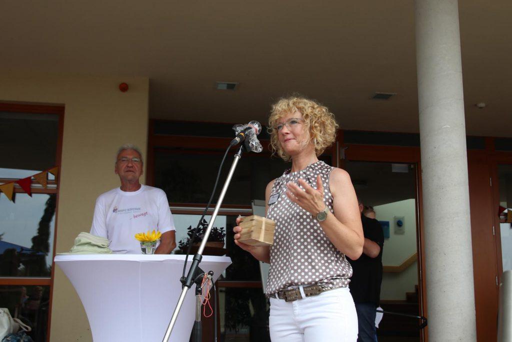 Claudia Mayer, Vorsitzende des HospizVereins Bergstraße.