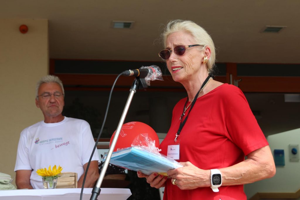 Renate Hannemann vom Vorstand der HospizStiftung Bergstraße.