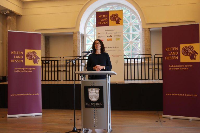 Staatsministerin Angela Dorn vom Hessischen Ministerium für Wissenschaft und Kunst.