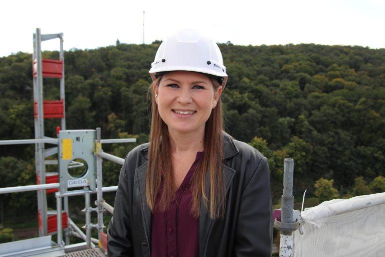 Stefanie Münch, Leiterin des Fachbereichs Hochbau und Projektverantwortliche bei der Stadt Eppstein.