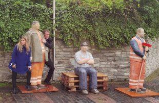 Theaterspaziergänge durch die Skulpturen in Eschborn - Näheres siehe Veranstaltungskalender. Foto: Stadt Eschborn