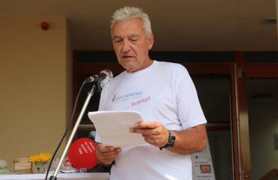 Gunter Lutzi war sichtlich bewegt von der Anteilnahme vieler Menschen.