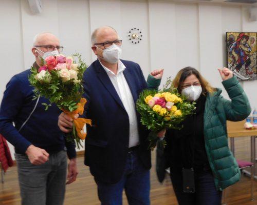 Wolf-Dieter Hassler, Albrecht Kündiger und Gianina Zimmermann